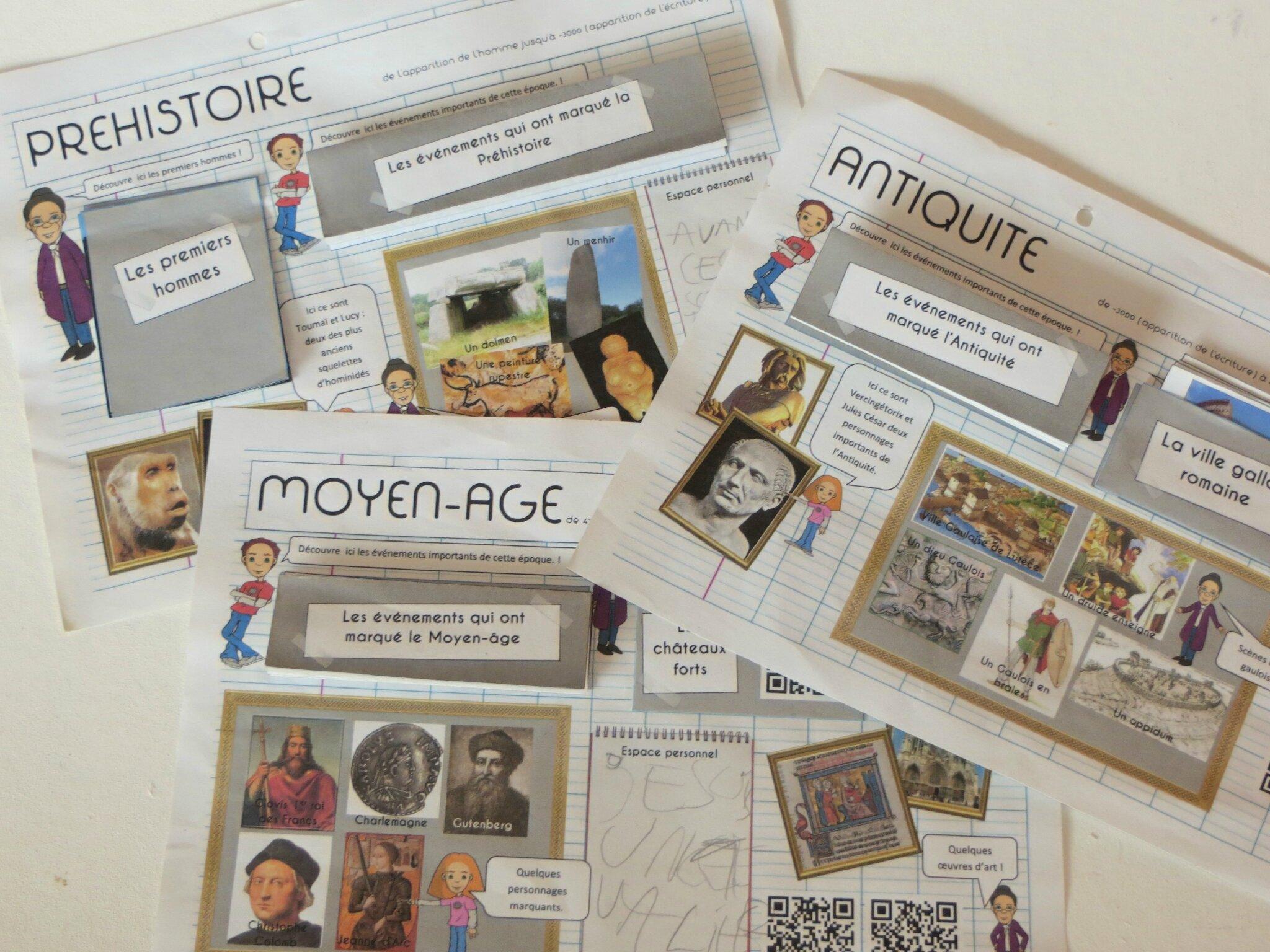 Des frises chronologiques coller ressources pour s 39 amuser ensemble - Maison des temps modernes ...