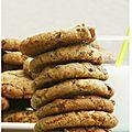 Cookies chocolat caramel et noisettes!