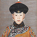 Prized portrait of consort chunhui sold for almost hk$40 million at bonhams hong kong 2012 spring auctions