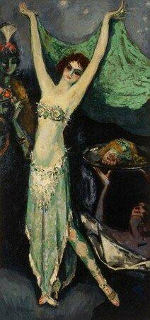 Mademoiselle_Genevi_ve_Vix_dans_le_r_le_de_Salom__1920_de_Kees_Van_Dongen