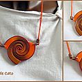 Spirales Mabcréa orangées