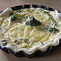 Tartelette brocolis et munster