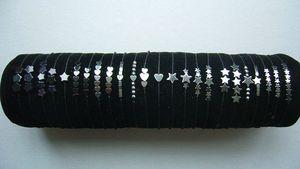 Bracelets perles d'hématite ou d'obsidienne