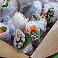 Rouleaux de printemps au pâté vietnamien (pour le pique-nique de dorian)