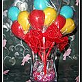Chocolats maison comme des kinder country, en sucettes ballons...