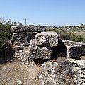 turquie : kapikiri tombeaux