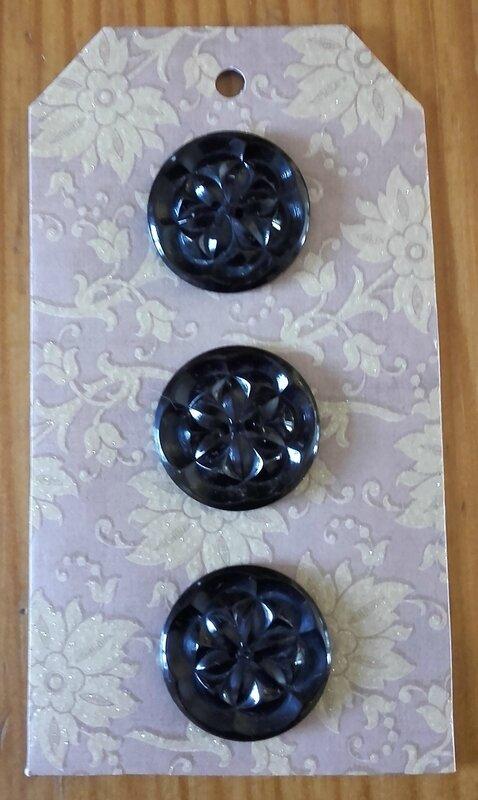 Cartonnettes de boutons (6)