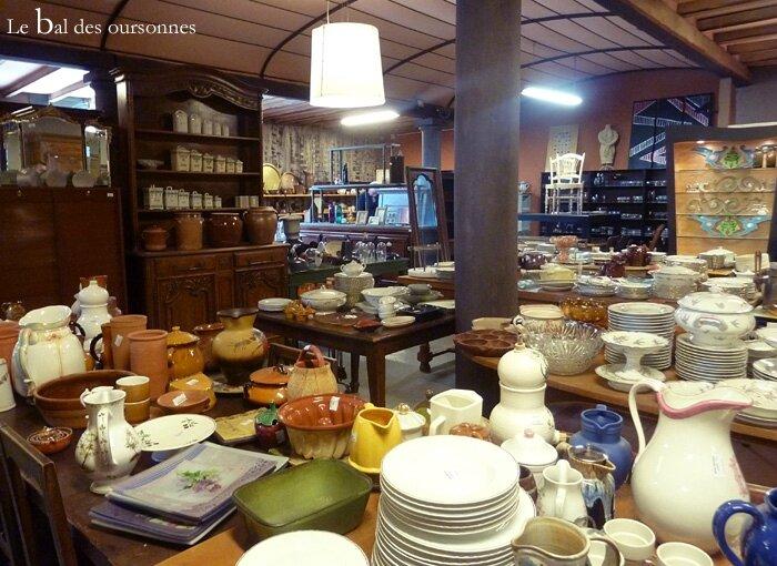 109 Blog Dépôt Vente Mollégès Provence Brocante Antiquaire Vaisselle