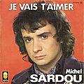 Je vais t'aimer de Michel Sardou