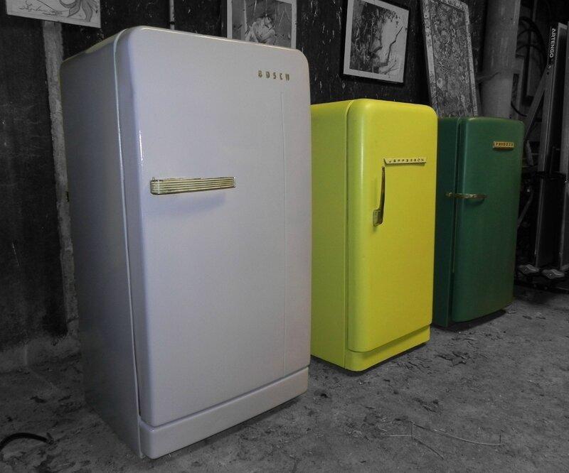 Les trois frigos