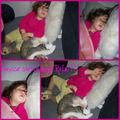Grosse sieste avec rita!!!