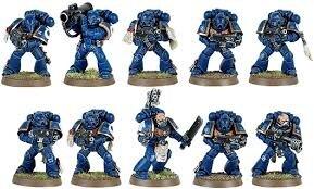 """Résultat de recherche d'images pour """"warhammer 40000 figurine space marines"""""""