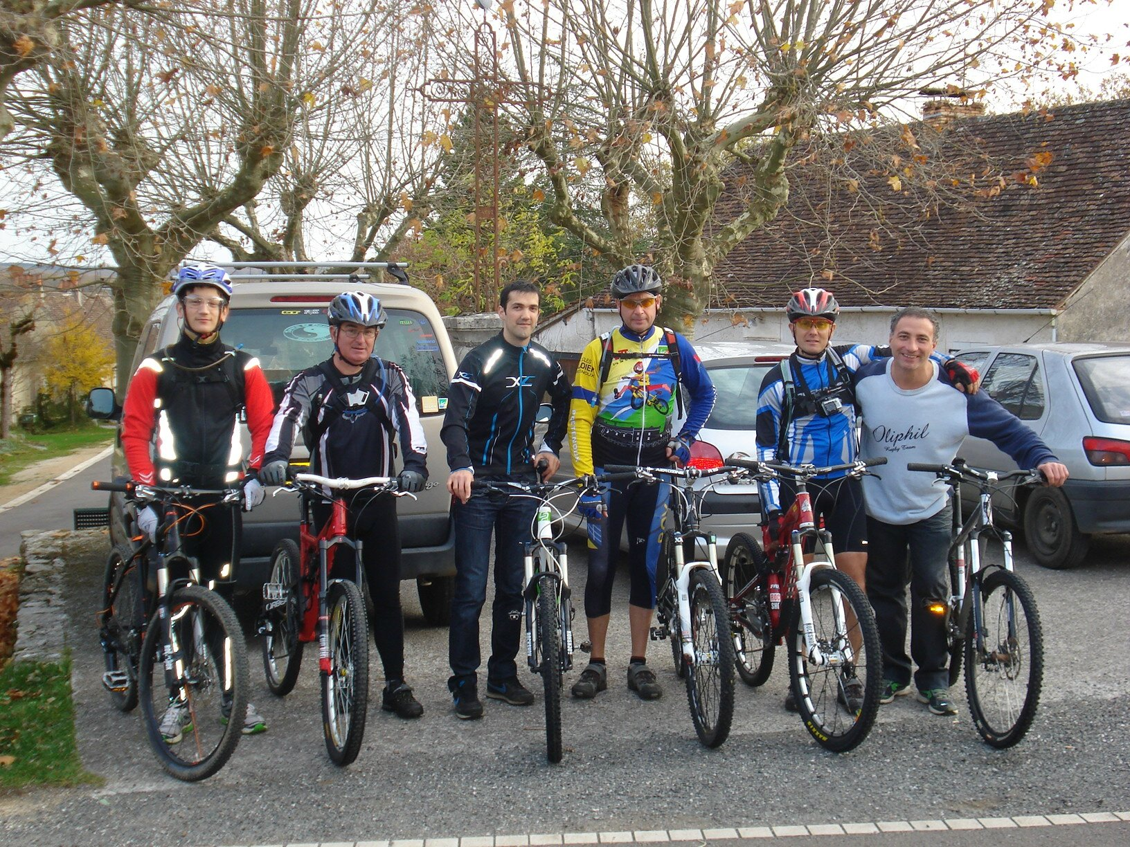 22 / 23-11-2014 Week-end VTT sur le causse de Gramat