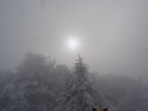 2008 12 22 Le soleil n'est pas loin sur les hauteurs du Pilat