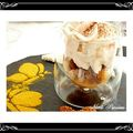 Verrine mangue, foie gras, pain d'pices, figues et espuma de foie gras.....