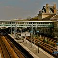 Gare de la ville de Pantin.