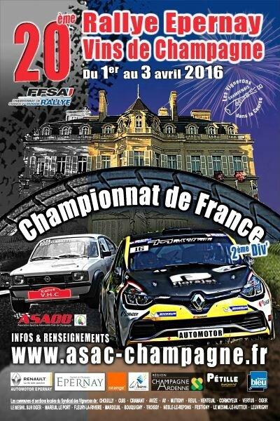 Rallye Epernay Vins de Champagne 2016