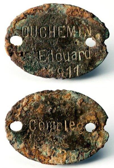 plaque Duchemin