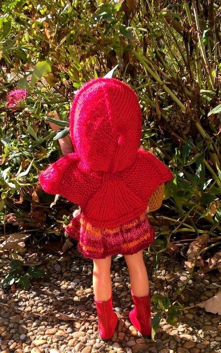 Opale chaperon rouge projet octobre 17 de Louise cliché 02