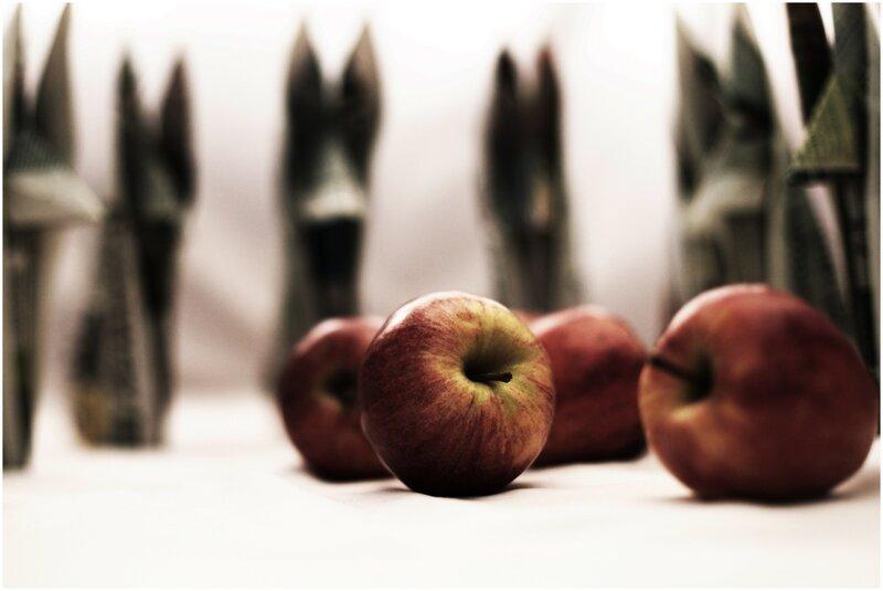 des pommes et des loups