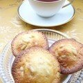 Madeleines au miel de garrigues et aux pignons pour une tasse de th russe aux parfums de cannelle