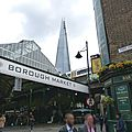 De borough market a london eye - un marche et deux musees - 2eme journee - 2eme partie