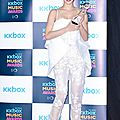 Watch jolin's performance at the 10th kkbox music awards!