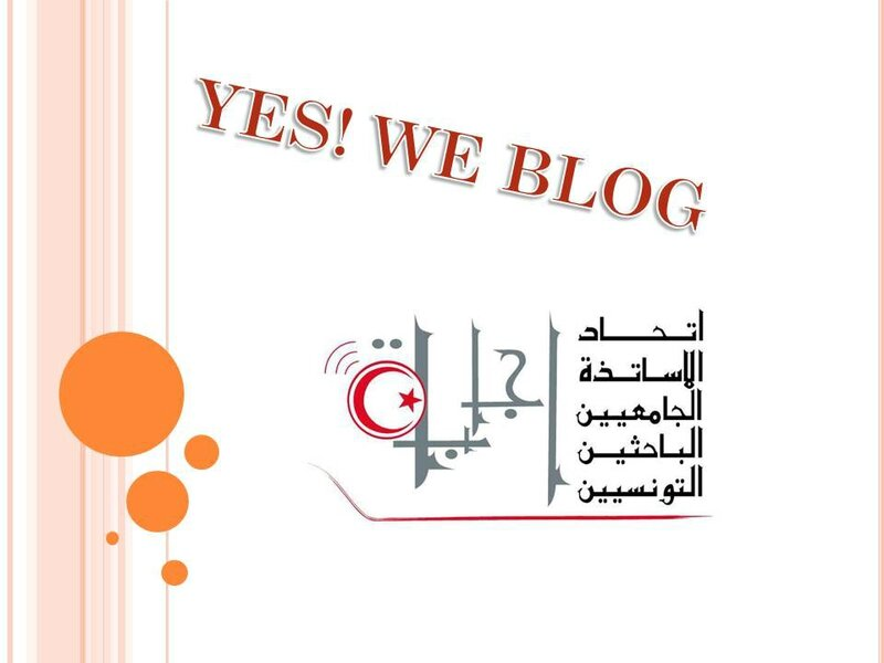 YES WE BLOG
