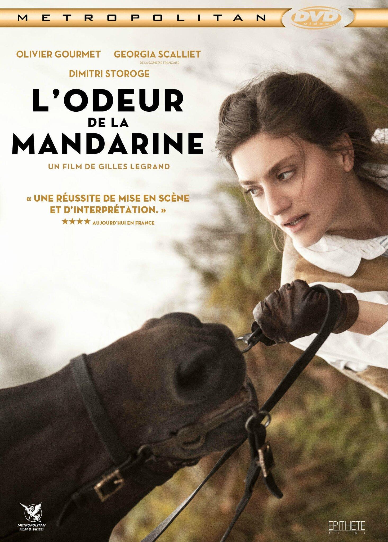 Concours l 39 odeur de la mandarine 3 dvd gagner baz for Auteur romantique
