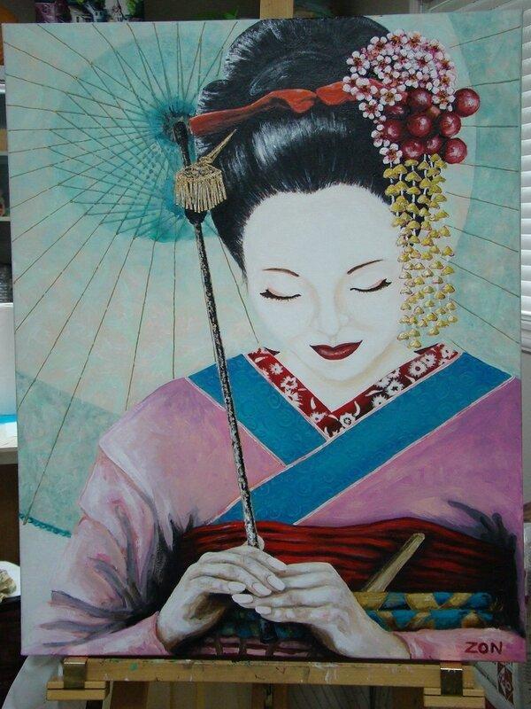 portrait Mémoires d'une Geisha