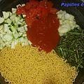 One pot pasta végétarien.... 2 !
