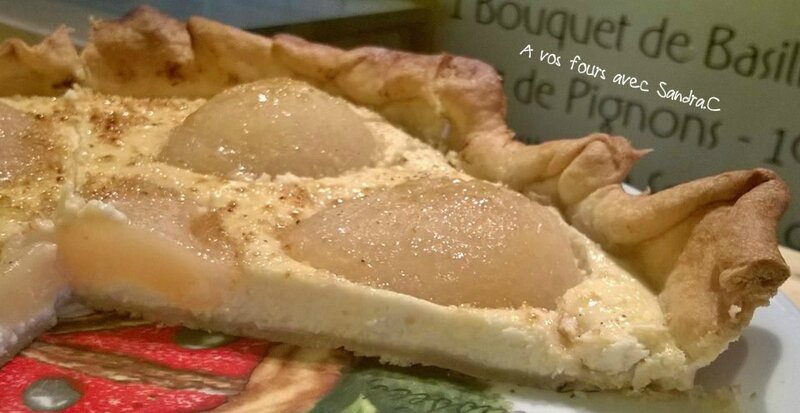 Tarte poire fromage blanc 3