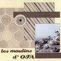 Iles grecques (38) les moulins d'oia