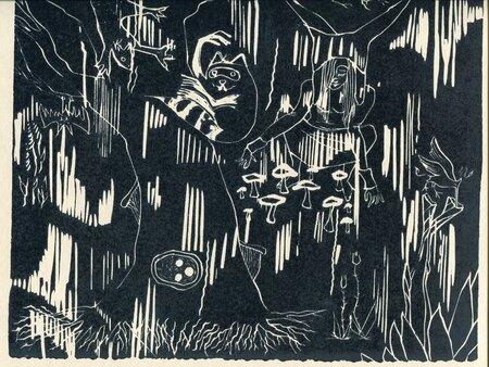 lino forêt brut