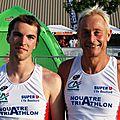 Doublette Nouâtre triathlon sur le LD
