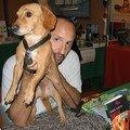 Le chien saucisse, auteur de romans policiers.
