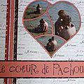 page pochoir coeur 2