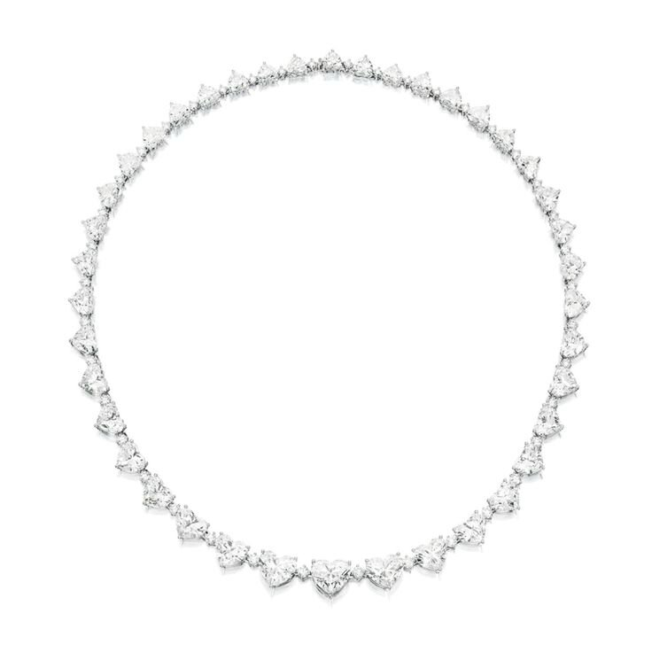 Very Fine Diamond Necklace
