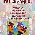 Patch'angloy s'expose du 23 au 30 mars