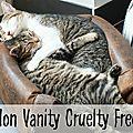Mon vanity cruelty free