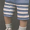 Vêtements et accessoires enfant #11 : bermuda