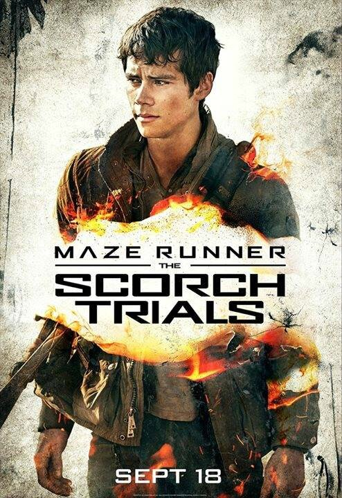 the scorch trials affiche