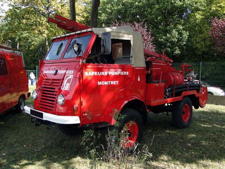 RENAULT 4X4 Type 2087 Vehicule de pompiers 1957 Bourse de Crehange 2009