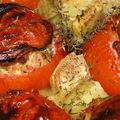 Tomates farcies à la crème de gruyère