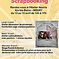 Stage Scrap enfant - Atelier Nesiris AVRIL 2015