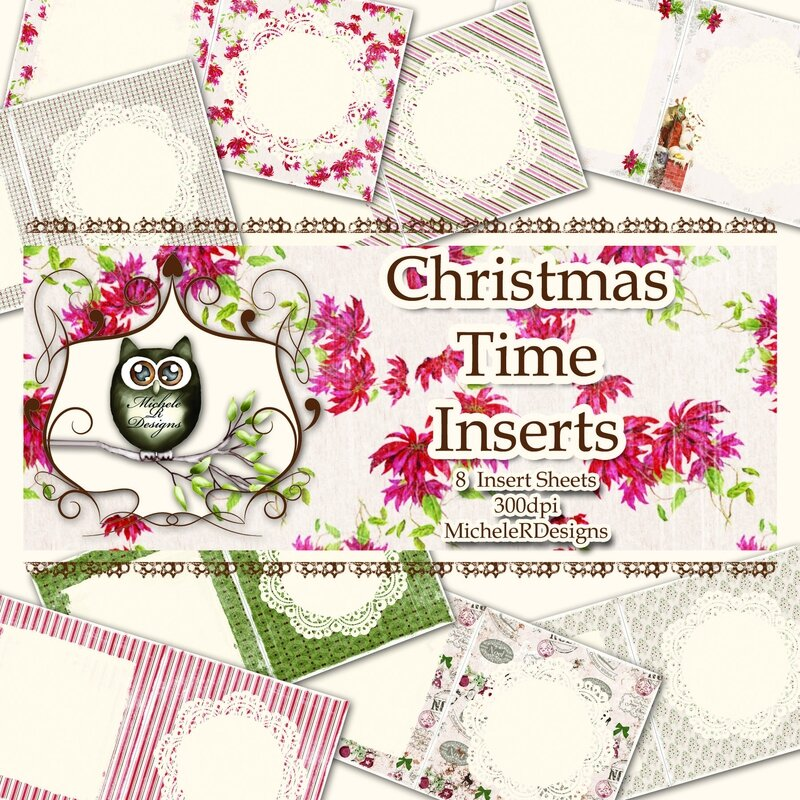 Christmas Time Inserts Front Sheet