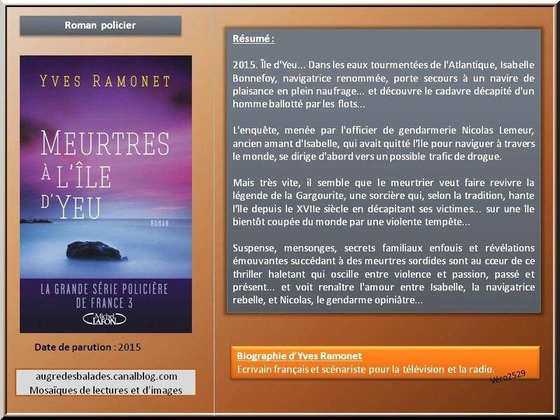 Yves Ramonet meurtres a l ile Yeu