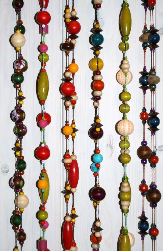 Sautoirs cravate Grosses perles