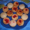 Minis muffins aux pralines