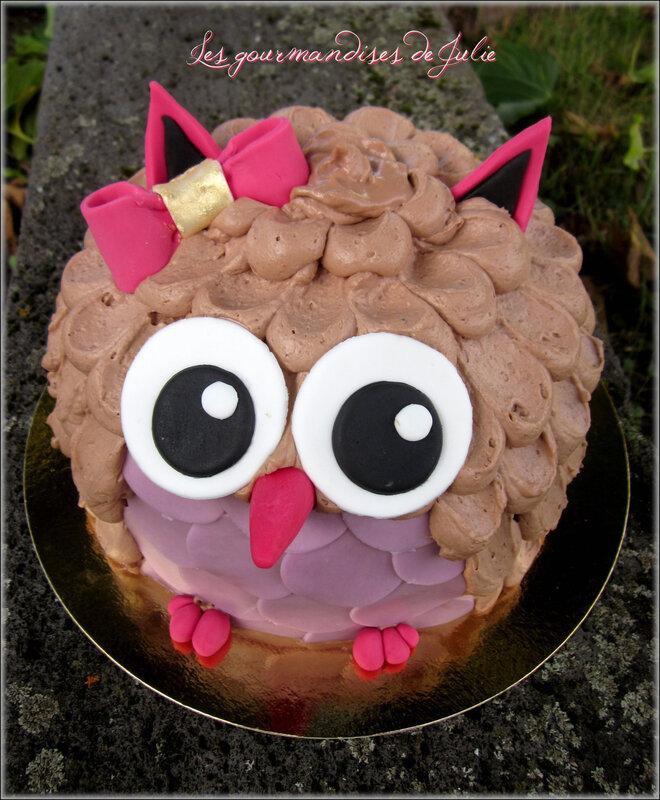 gâteau chouette bis